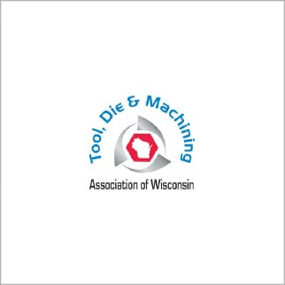 Tool die and machining association of wi logo